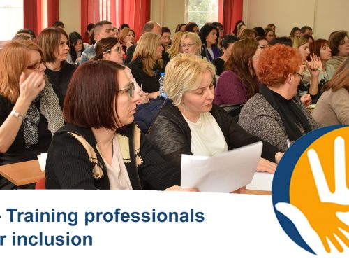 "Register now for our final conference in Brussels ""Autism -Training professionals to foster inclusion"""
