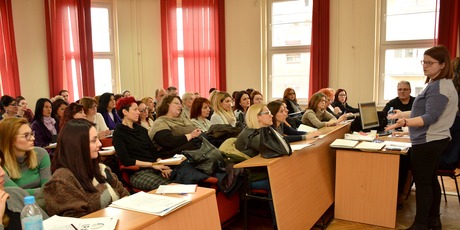 Full house at the launch of the IPA+ training in Serbia