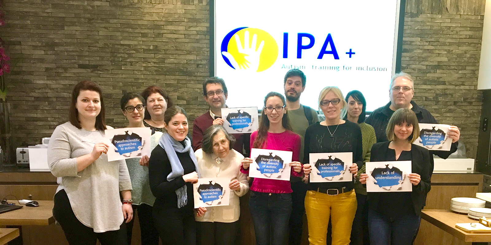 IPA+ partners break barriers together for autism to build a barrier-free society for all