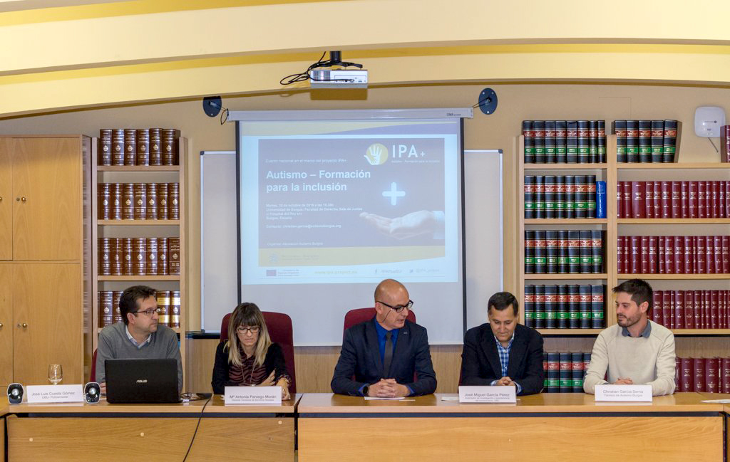 The University of Burgos brings over the IPA+ training to professionals in Spain