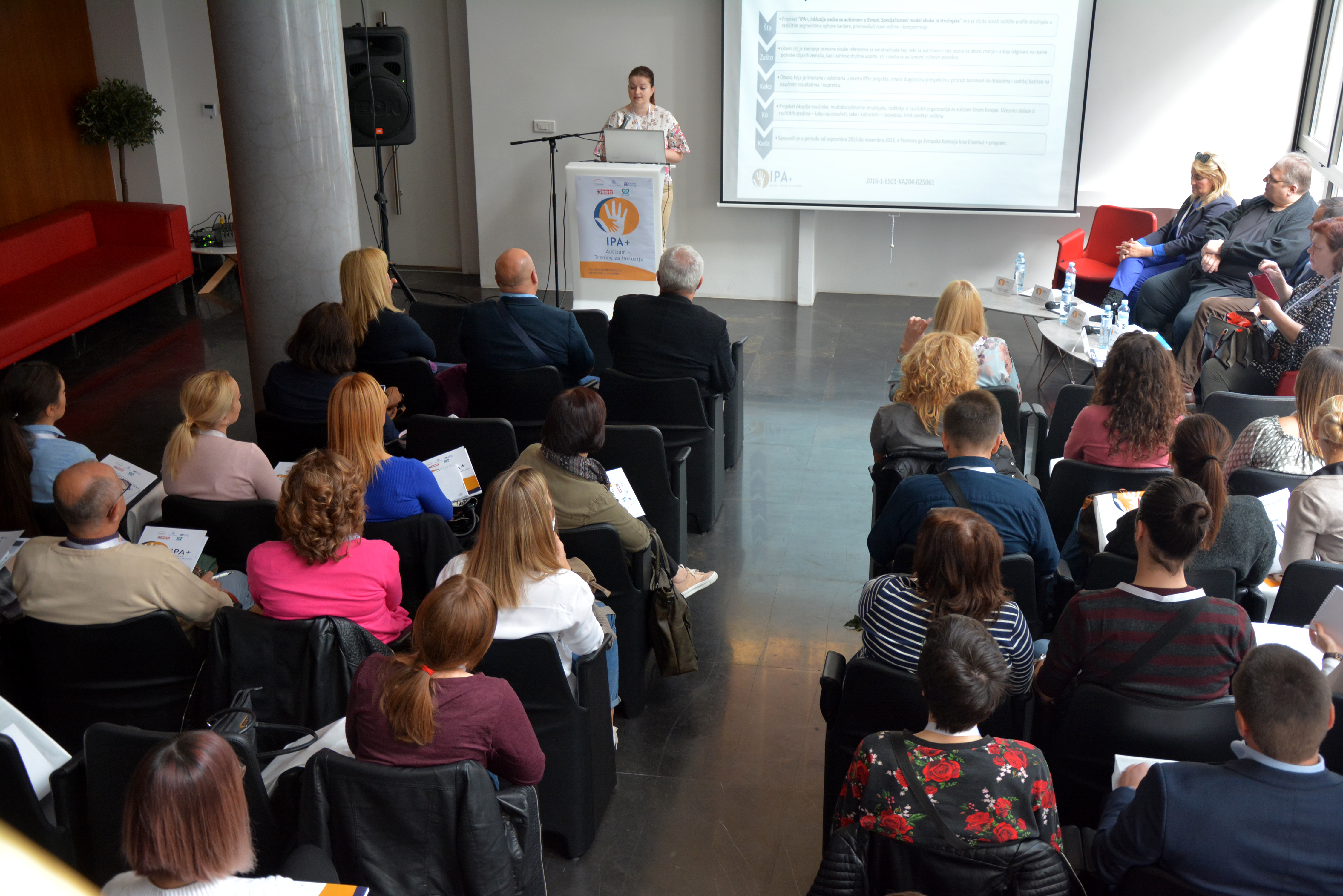 The Serbian Society of Autism hosts the IPA+ national event in Belgrade