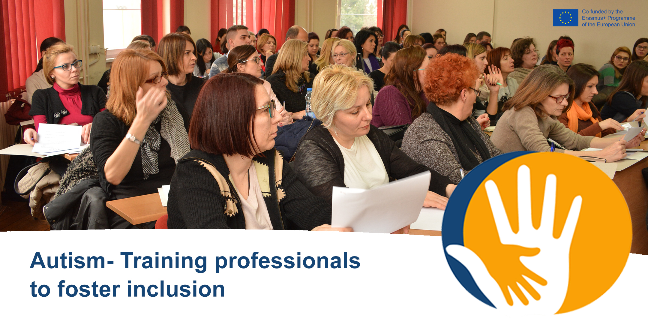 """Register now for our final conference in Brussels """"Autism -Training professionals to foster inclusion"""""""